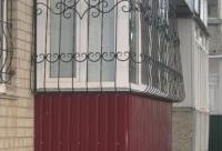 красивая обшивка балкона