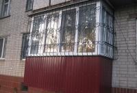 балкон на первом этаже в Черкассах